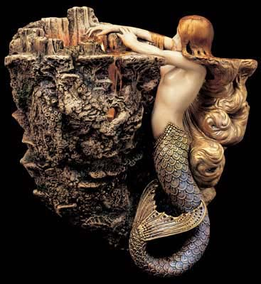 Photo of Sea Fire Mermaid Sconce