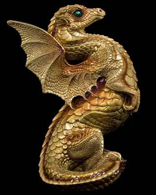 Rising Spectral Dragon - Gold