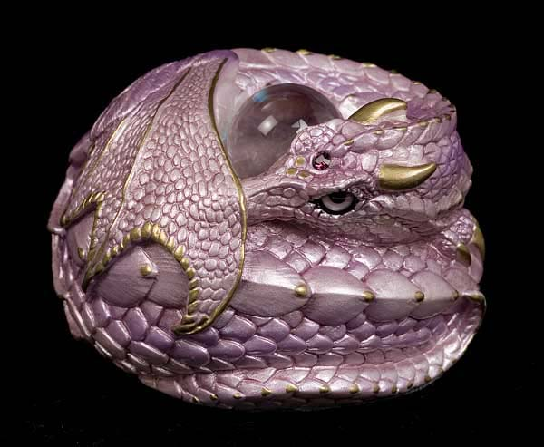 Photo of Curled Dragon - Lavender Pearl
