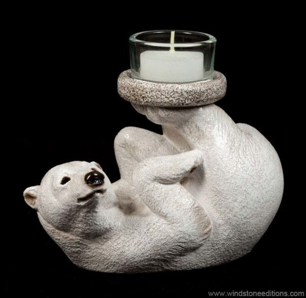Bear Feet Candle Lamp