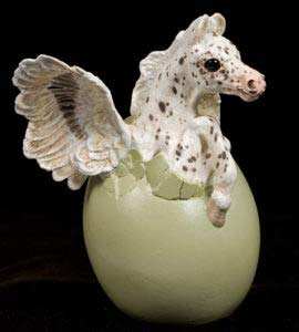 Leopard Appaloosa Hatching Pegasus by Windstone Editions