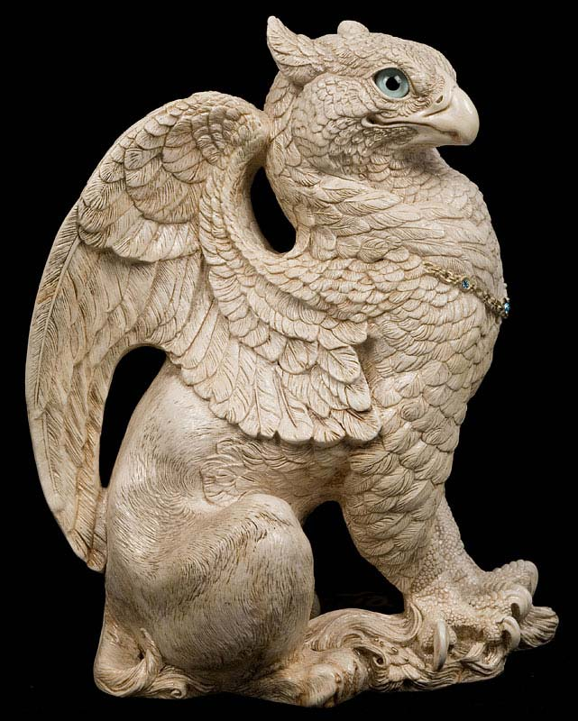 Ivory Male Griffin by Windstone Editions