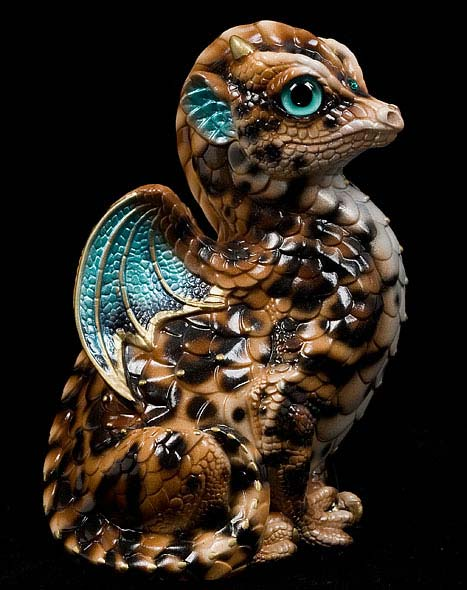 Sand Bengal Fledgling Dragon by Windstone Editions